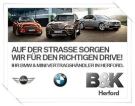 Sponsor Bahn 9 - B & K Herford