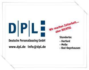 Sponsor Bahn 3 - Deutsche Personalleasing GmbH