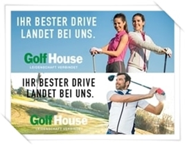Sponsor Bahn 6 - Golf House