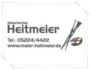 Sponsor Bahn 2 - Malerbetrieb Heitmeier